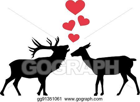 Download Deer clipart love, Deer love Transparent FREE for download ...