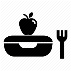 lunch icon clipart restaurant breakfast transparent webstockreview vectorified