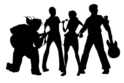 small resolution of music png hd transparent jazz clipart rock band