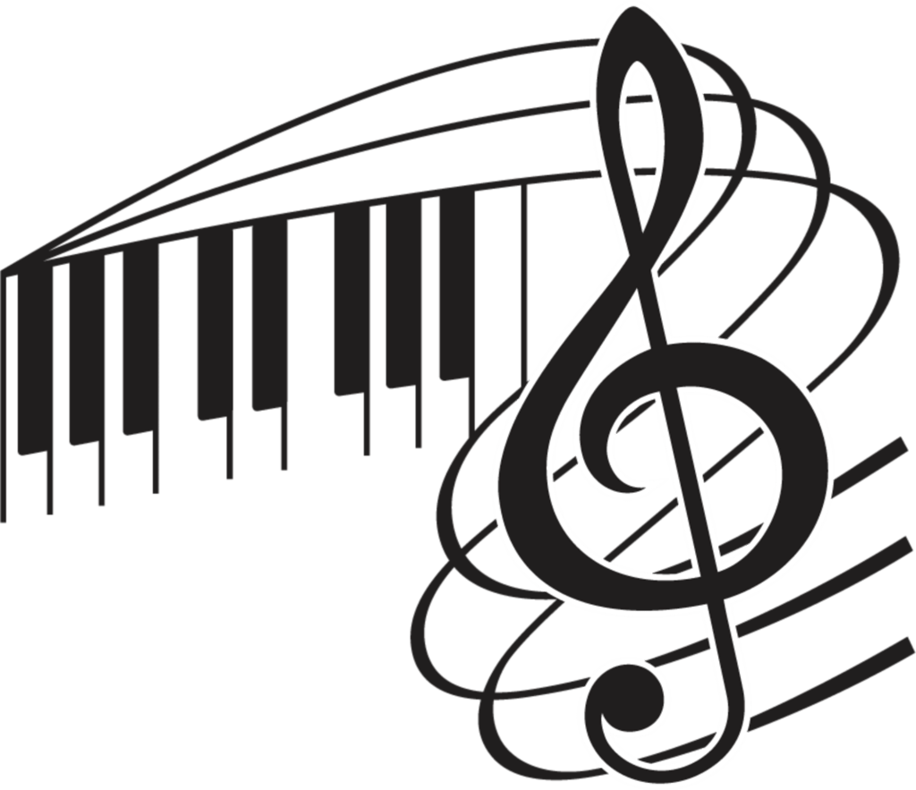 Music clipart silhouette, Music silhouette Transparent