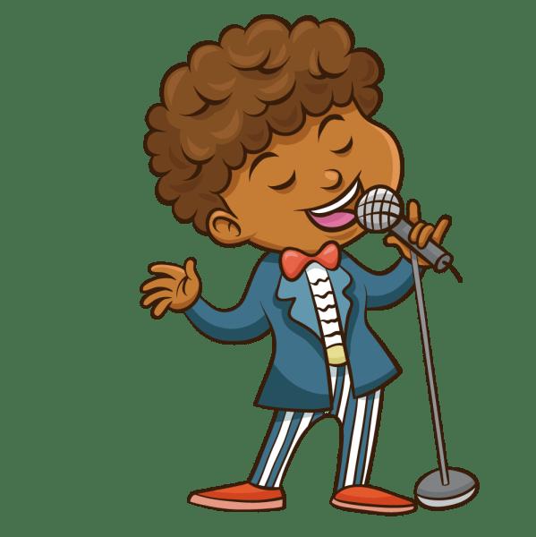 Singer Clipart Man Transparent