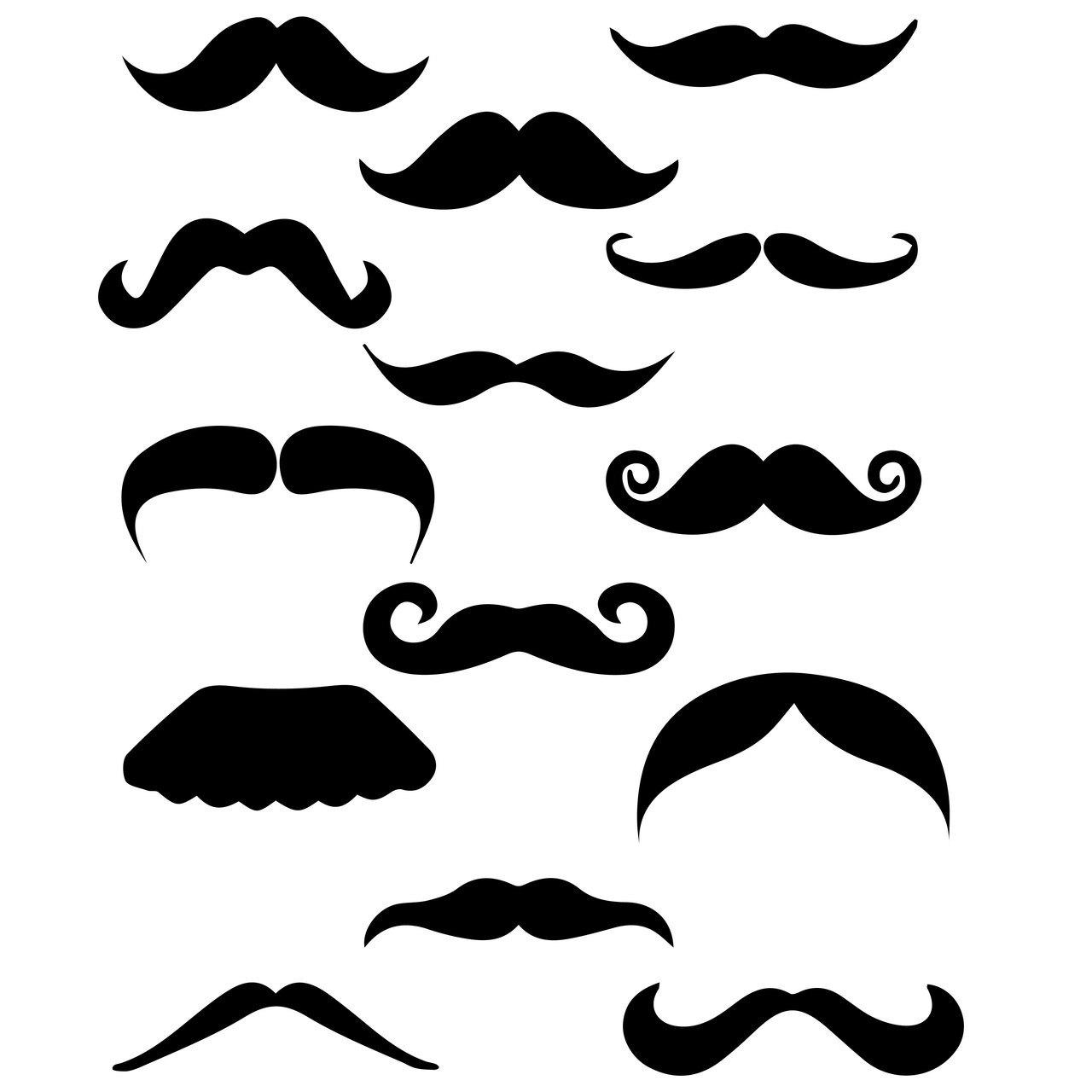 Moustache Clipart Svg Moustache Svg Transparent Free For
