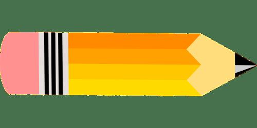 pencil clipart horizontal clip pencils stationery gambar assicurazioni writing vita transparent calano segreteria tulis alat pensil pen test sat sketch