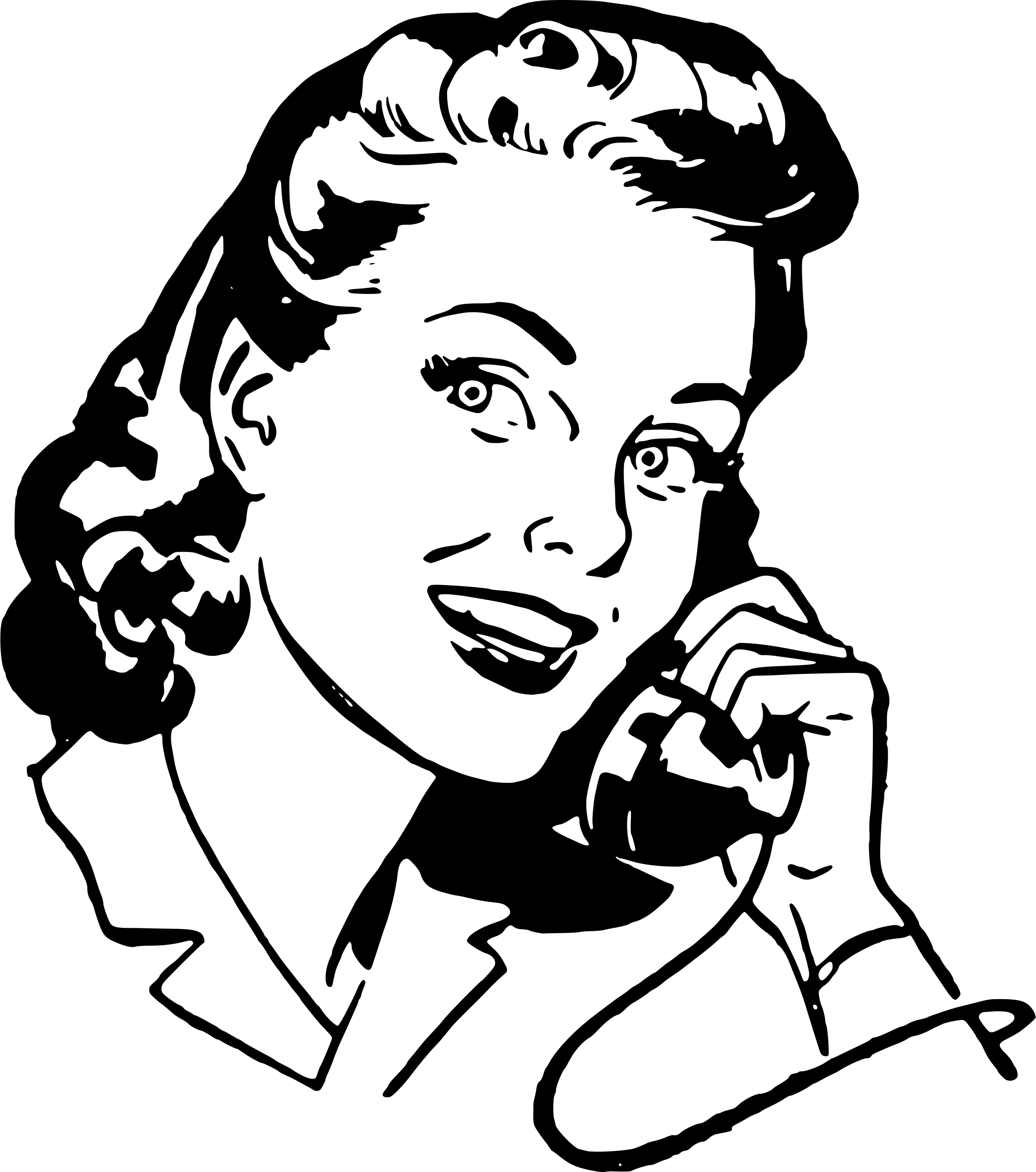 Person Clipart Phone Person Phone Transparent Free For
