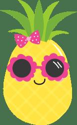 pineapple clipart clip luau food transparent mckinney mrs cool webstockreview found technology integration seekpng
