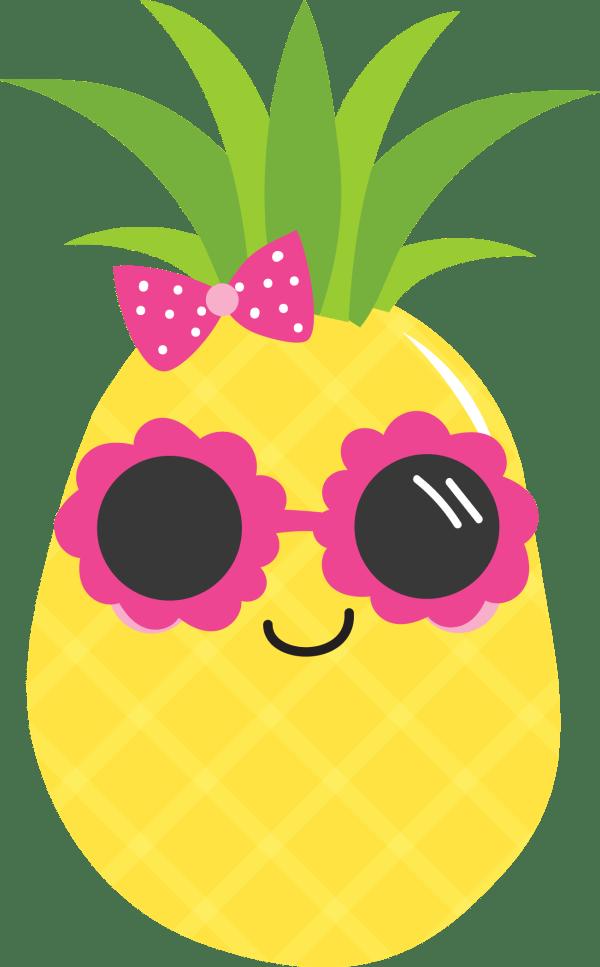 Pineapple Clipart Luau Transparent Free