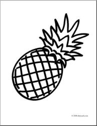 Clipart pineapple sketch Picture #2471278 clipart pineapple sketch