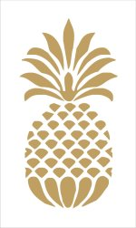 Pineapple clipart stencil Pineapple stencil Transparent FREE for download on WebStockReview 2020