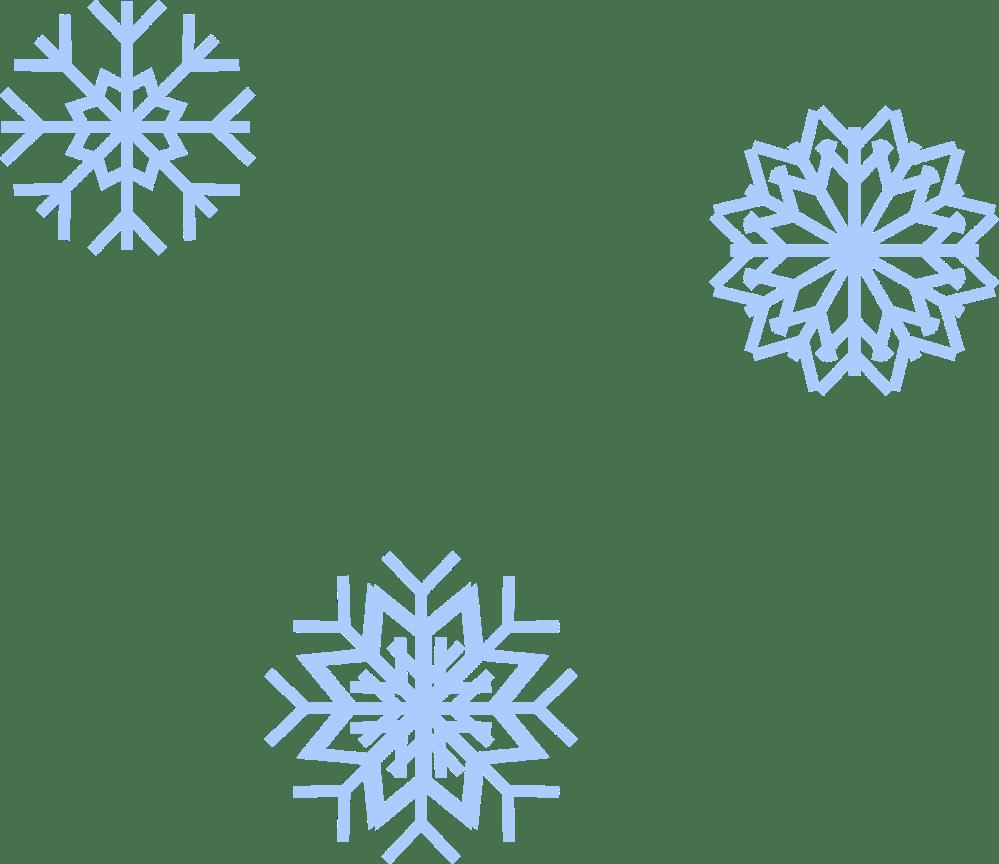 medium resolution of snow flakes big image png