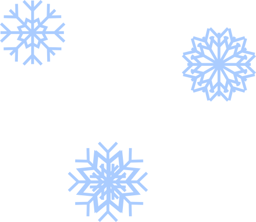 small resolution of snow flakes big image png