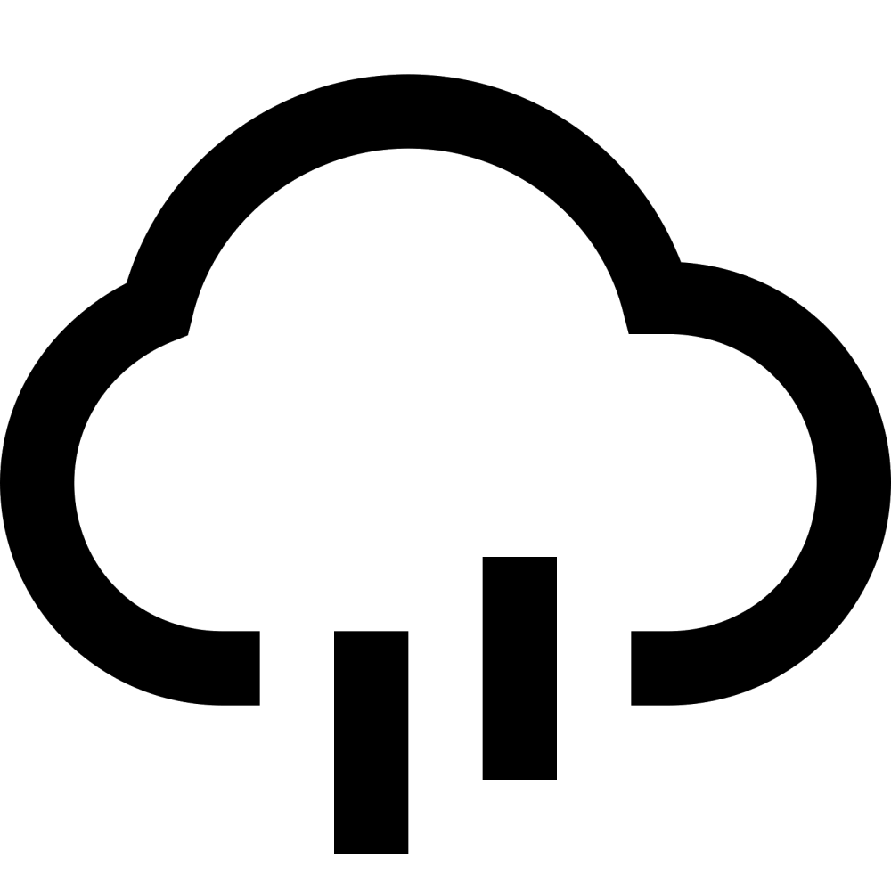 medium resolution of rain cloud icon free download png and collection of water clipartandscrap raindrop clipart rainfall