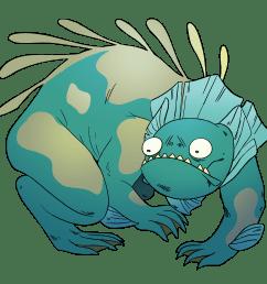 manatee clipart baby manatee monster lizard gem steven [ 2000 x 2000 Pixel ]