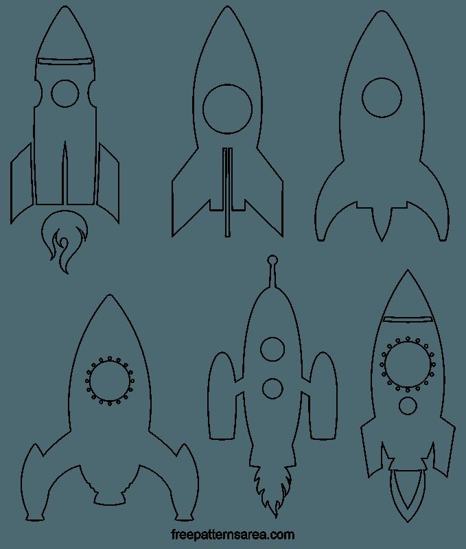 Clipart rocket template, Clipart rocket template