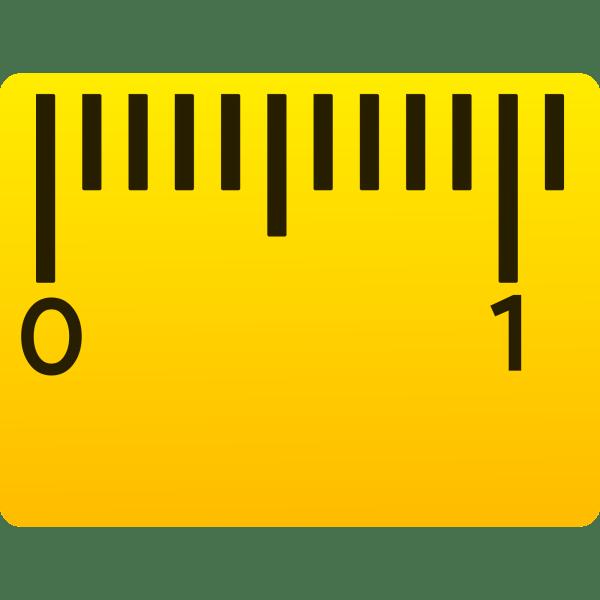 Clipart Ruler Yellow Transparent