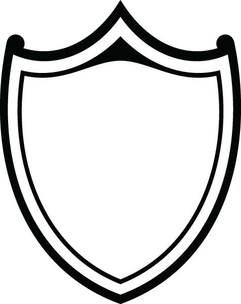 Clipart shield shield outline, Clipart shield shield