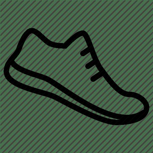 Clipart shoes outline, Clipart shoes outline Transparent