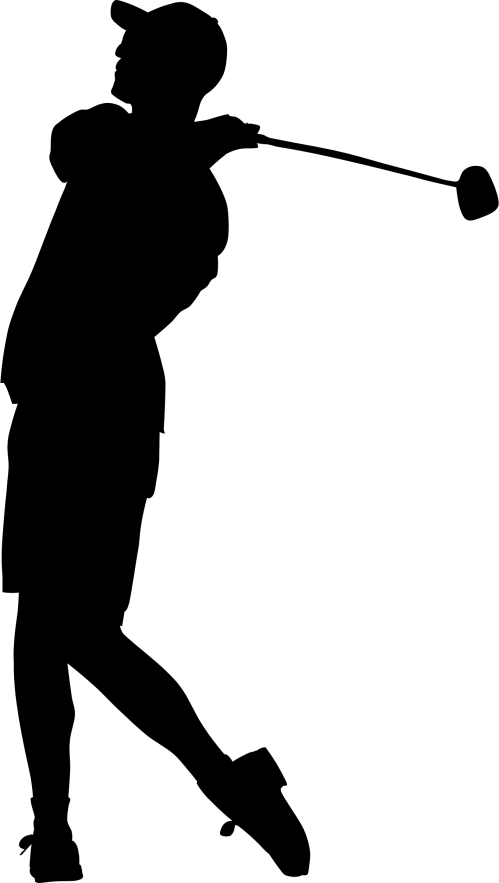 small resolution of golfing clipart golf team disc silhouette at getdrawings