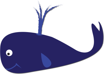 whale clipart breathing webstockreview buncee
