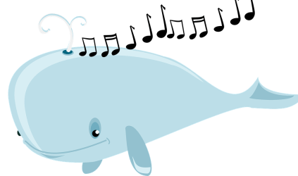 whale clipart transparent whales sing webstockreview why