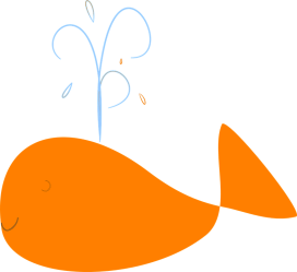 clipart shamu whale whales webstockreview pink collection