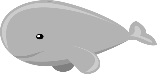 transparent background whale clip clipart mixed gray fish cute whales webstockreview