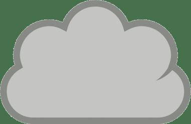 cloud transparent clipart clip cloudy clouds rain webstockreview gclipart clipartion wikiclipart