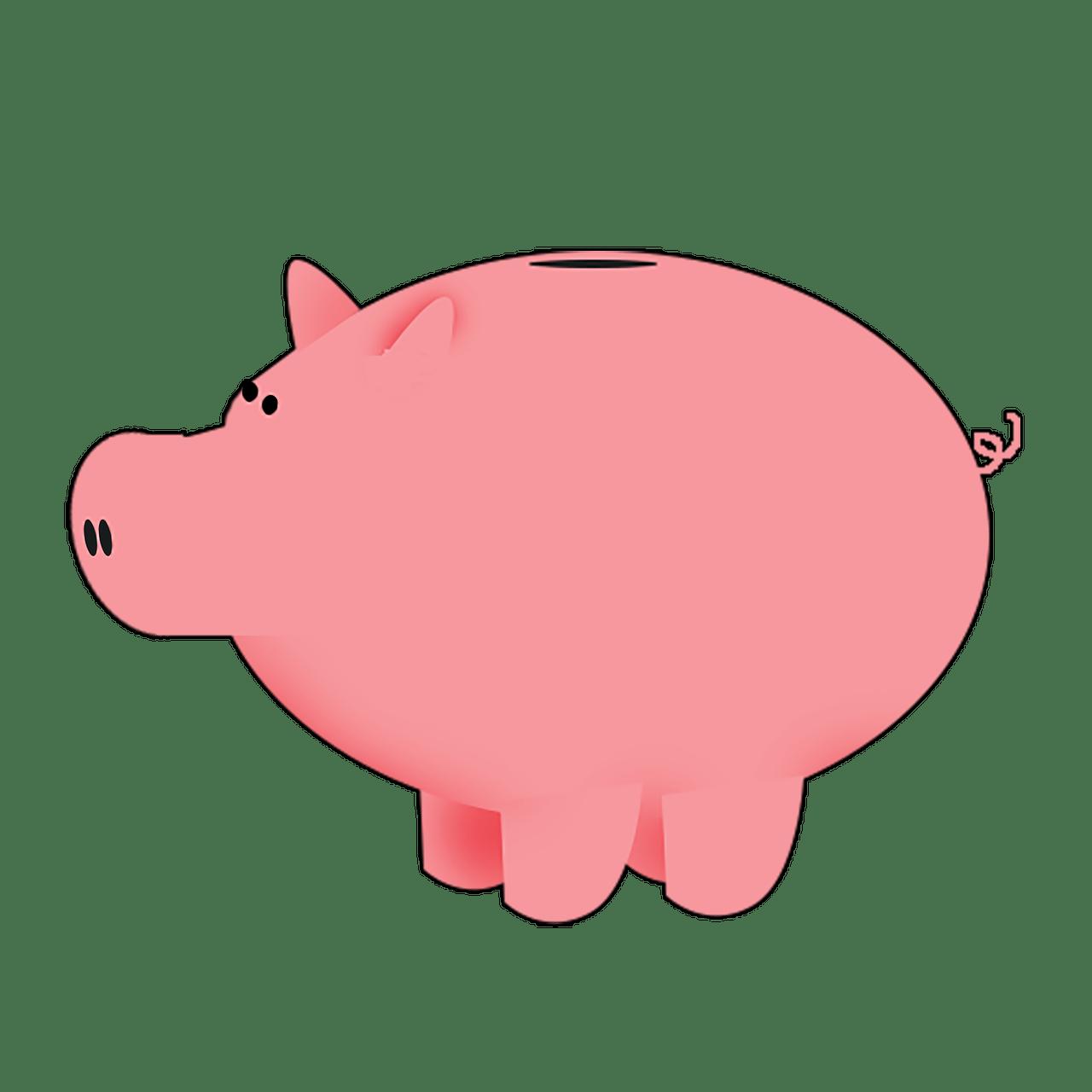 Coins Clipart Piggy Bank Coins Piggy Bank Transparent