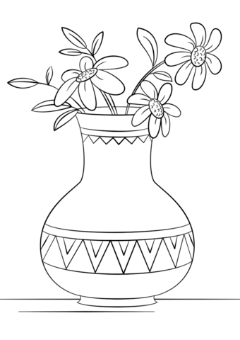 Vase clipart printable, Vase printable Transparent FREE