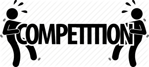 Competition clipart word art, Competition word art