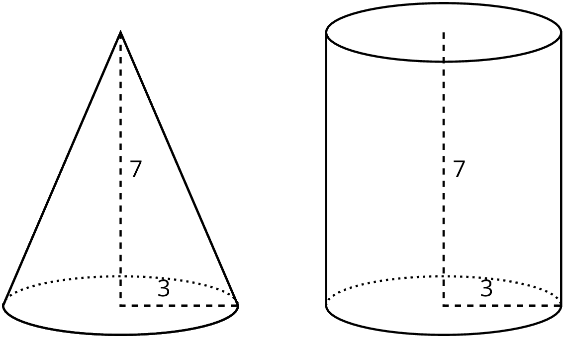 Cone clipart cylinder shape, Cone cylinder shape
