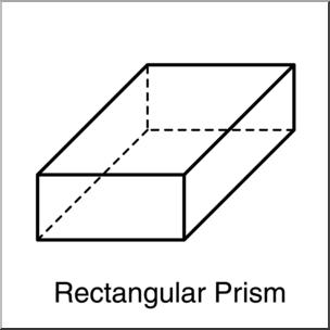 Cube clipart rectangular prism, Cube rectangular prism