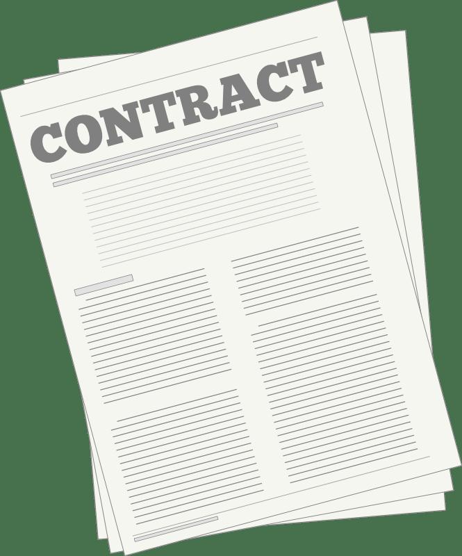 Document clipart agreement, Document agreement Transparent