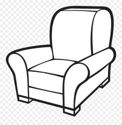 Couch clipart black and white Couch black and white Transparent FREE for download on WebStockReview 2020