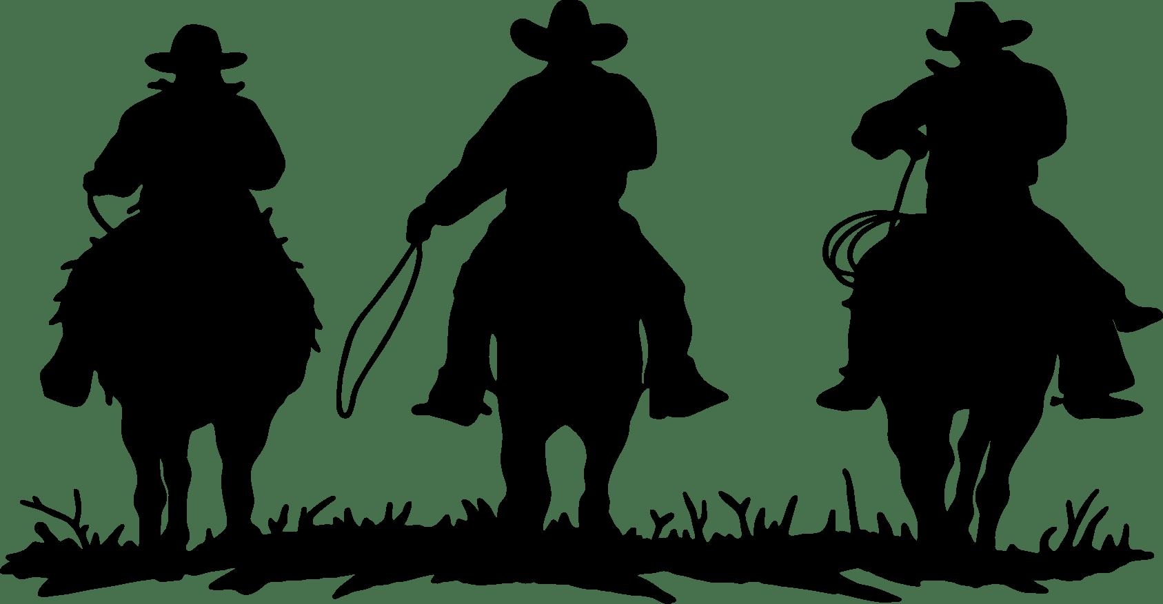 Cowboy Clipart West American Cowboy West American