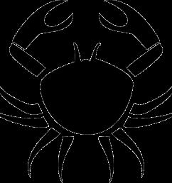 crab cancer symbol png icon download file [ 980 x 889 Pixel ]