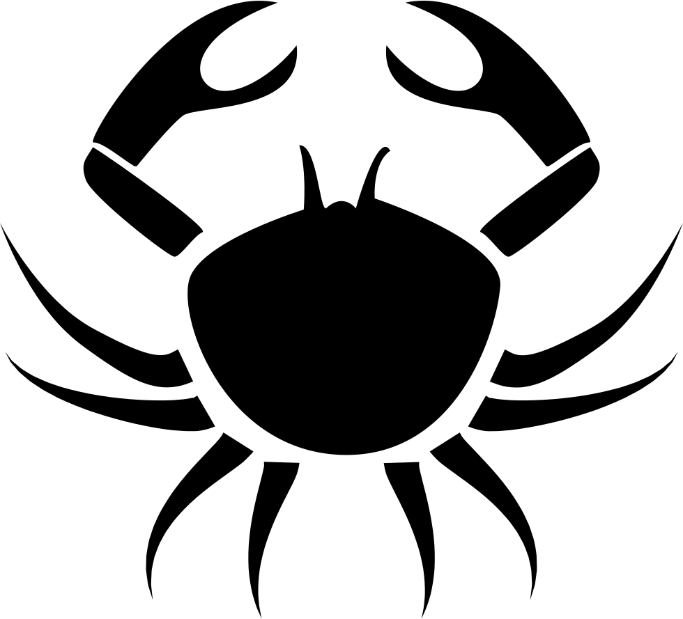 hight resolution of crab cancer symbol png icon download file