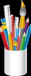 clipart crayon background transparent supplies webstockreview