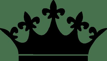 crown silhouette clipart transparent clip tiara webstockreview transprent