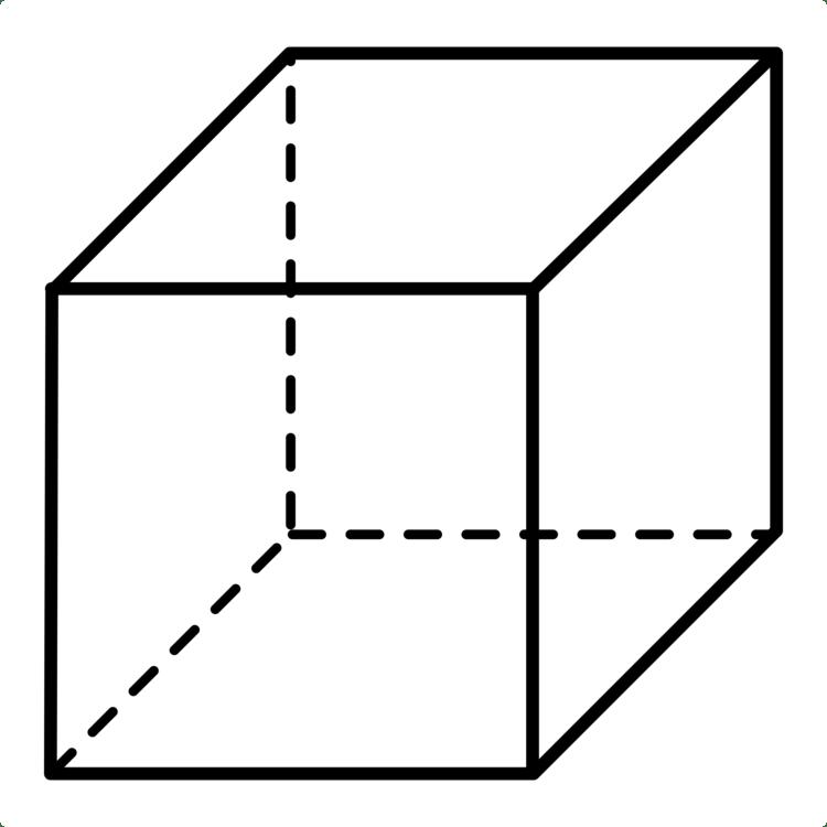 Cube clipart dimensional, Cube dimensional Transparent