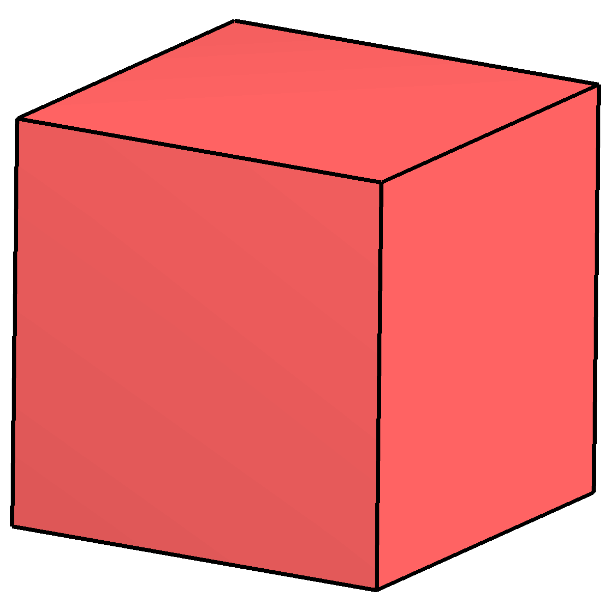 Cube Clipart Solid Cube Solid Transparent Free For