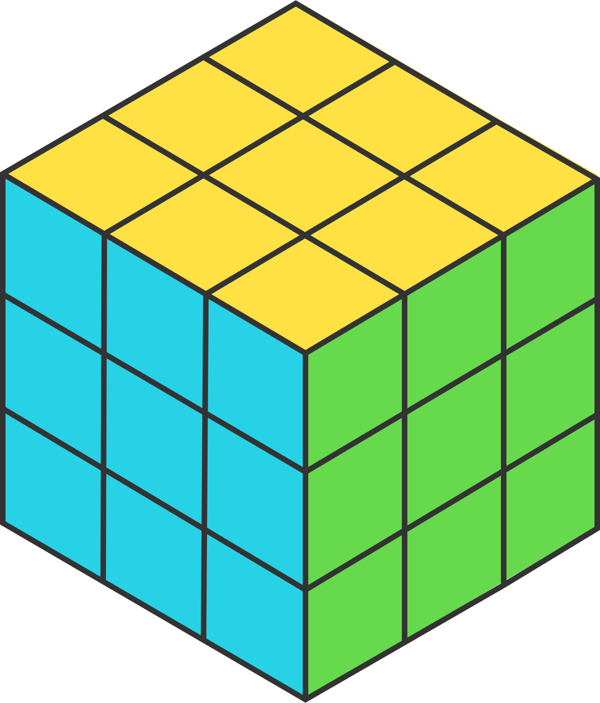 One Clipart Unit Cube One Unit Cube Transparent Free For
