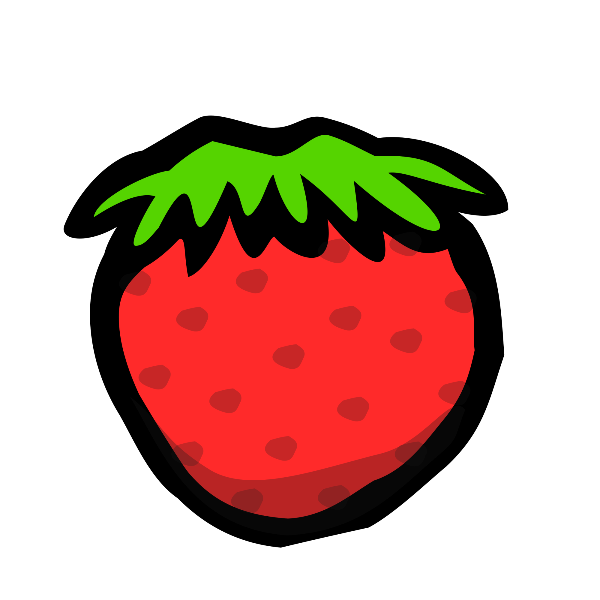 hight resolution of strawberries clipart watermelon strawberry big image png