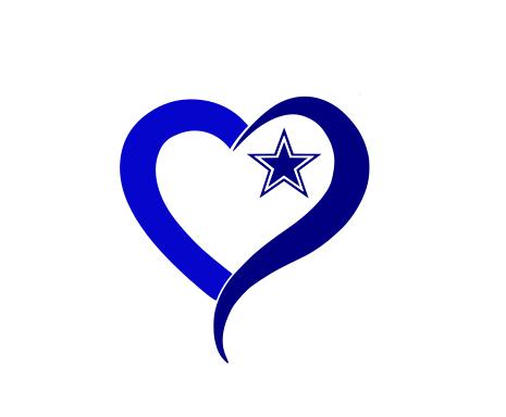 Download Dallas cowboys clipart heart, Dallas cowboys heart ...