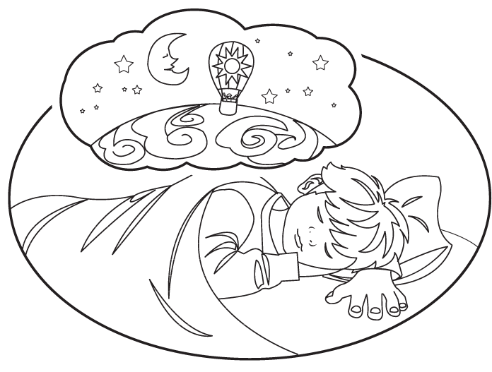 Daydreaming clipart dream line, Daydreaming dream line