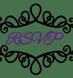 flourish clipart wedding reception invitation symbols clip art [ 1060 x 743 Pixel ]