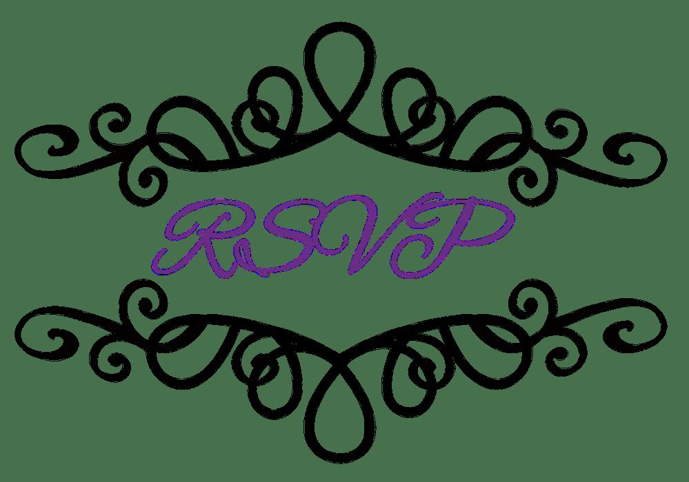 medium resolution of flourish clipart wedding reception invitation symbols clip art