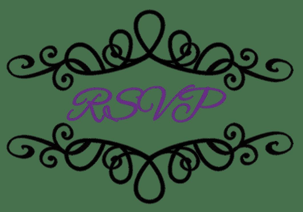 hight resolution of flourish clipart wedding reception invitation symbols clip art