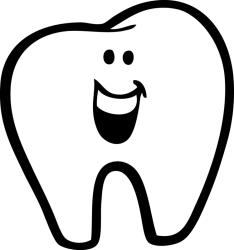 clipart tooth transparent background dental webstockreview found
