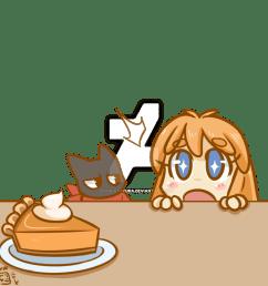 dessert clipart pumpkin pie [ 894 x 894 Pixel ]