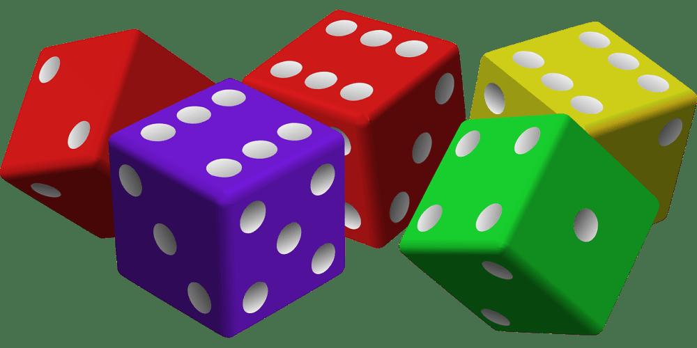 medium resolution of dice clipart bunco